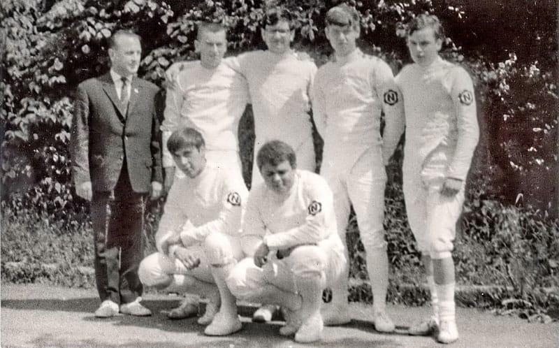 Deutsche-Junioren-Mannschafts-Meister-schaften am 03.06.1968 in Schweinfurt