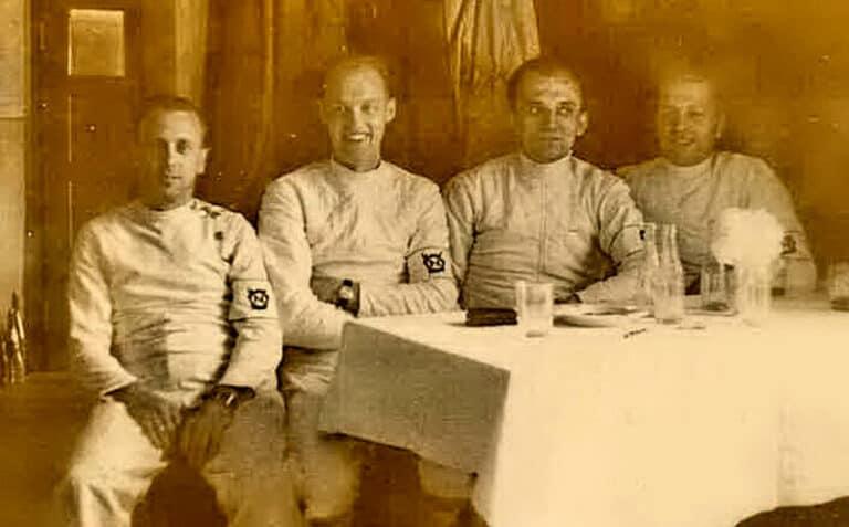 Herrenflorettmannschaft des TuS 1860 Neunkirchen 1953