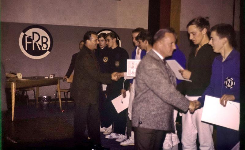 Saarlandmeisterschaften im Junioren-Einzelfechten am 10.10.1965 in Beckingen