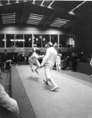 Säbel-Weltcupturnier Martini in Brüssel 1968
